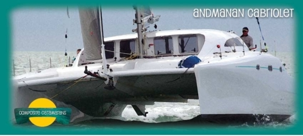 The Andaman Cabriolet Catamaran | built in Phuket Thailand